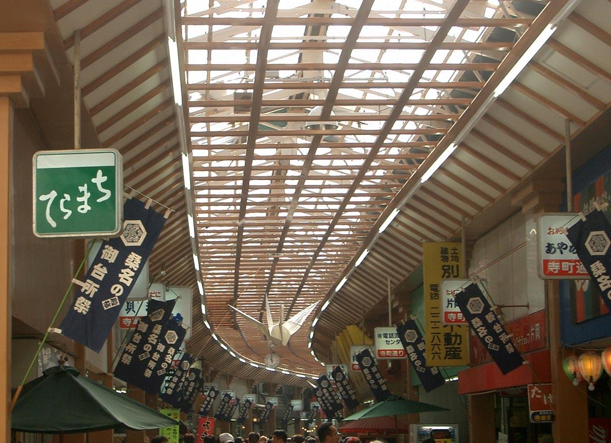 商店街アーケード改修工事(三重県桑名市)_04