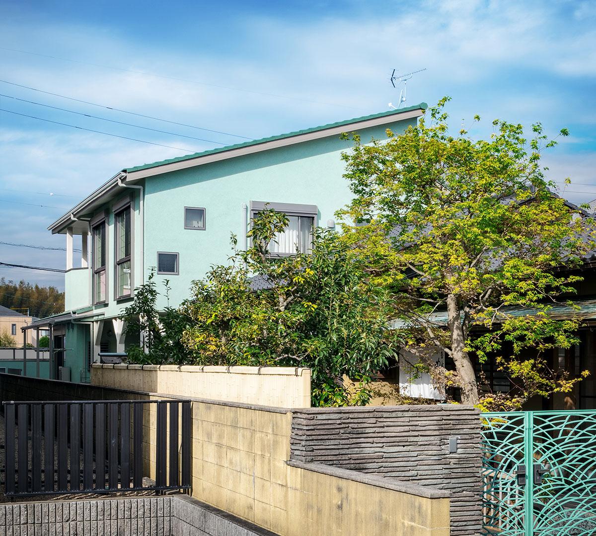 緑タイルの家(三重県桑名市)_30