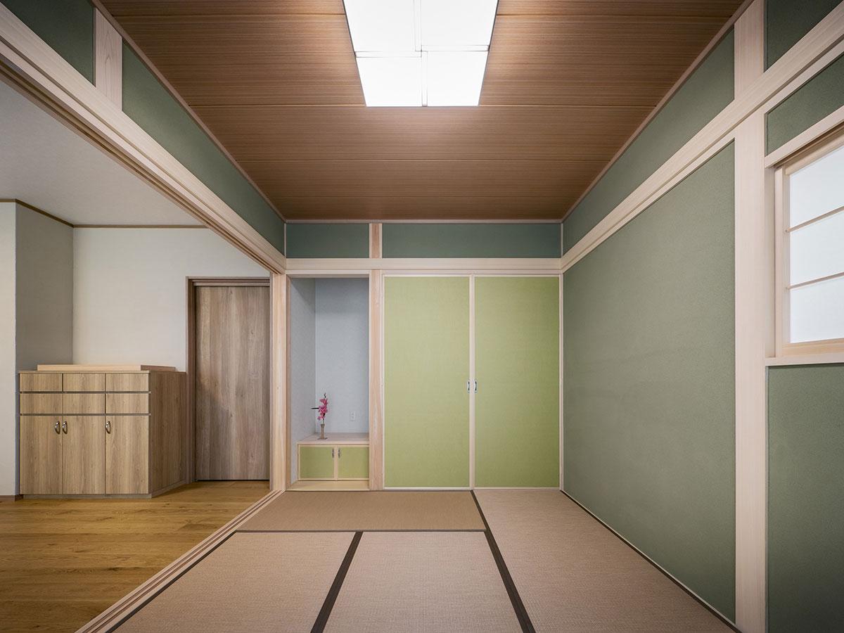 緑タイルの家(三重県桑名市)_07
